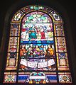 Saint Joseph Cathedral (San Diego, California) - stained glass, The Assumption and Coronation of Mary.jpg