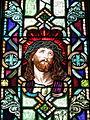 Saint Patrick Catholic Church (Junction City, Ohio) - stained glass, Man of Sorrows.jpg