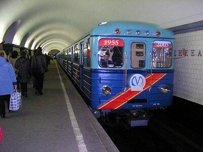Ретропоезд Петербургского