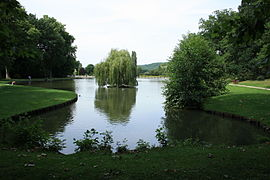 Lake Beausejour in Saint Remy les Chevreuse