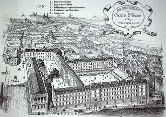 Collège Sainte-Barbe - Collège Sainte-Barbe.