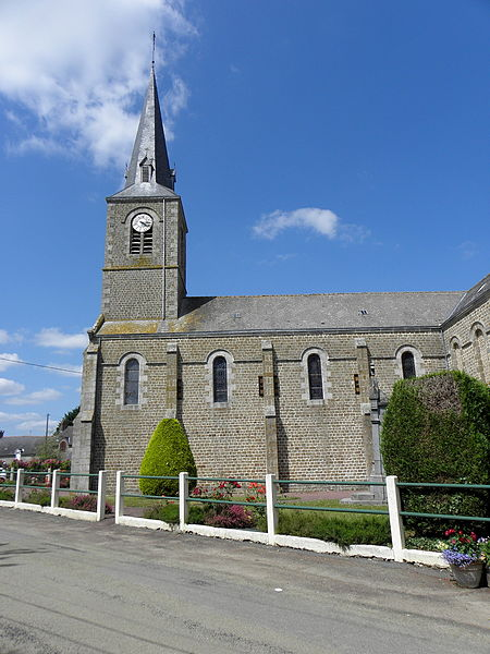 Église de Sainte-Marie-du-Bois (53).