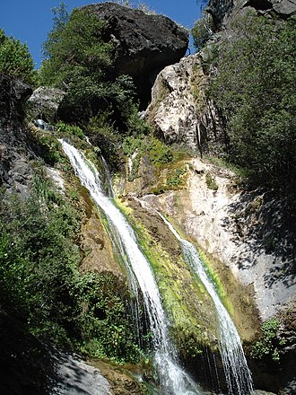 Los Padres National Forest - Salmon Creek Falls, near the Big Sur coast, just outside the Ventana Wilderness.