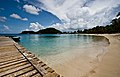 Saltwhistle Bay Dock and Beach - panoramio.jpg