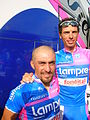Salvatore Commesso (Lampre Fondital) et A. Ballan.jpg
