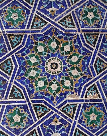 girih, Shah-i Zinda, Samarcanda