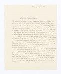 Samhälls- och rättsvetenskap.Tackskrifvelser från nödlidande i Weimar - Hallwylska museet - 105242.tif