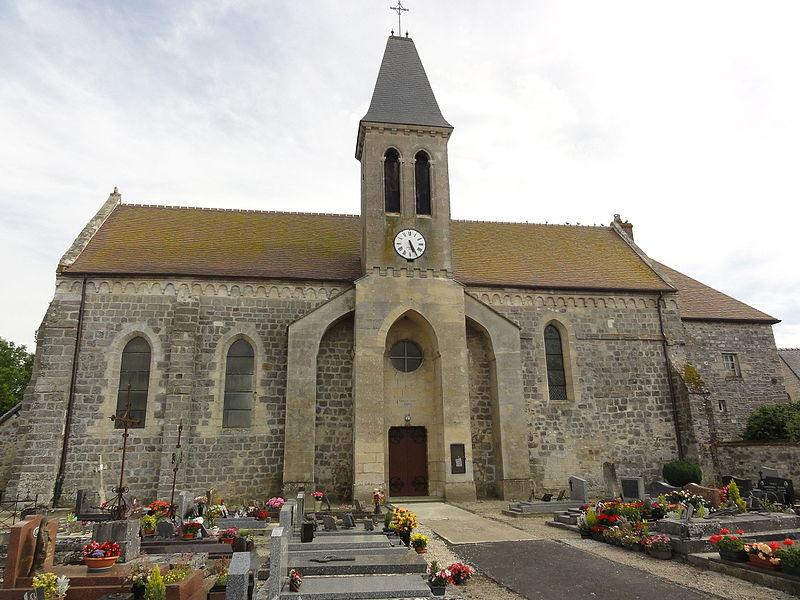 Samoussy (Aisne) église