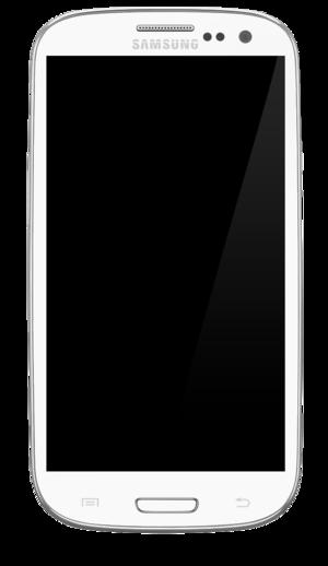 Samsung Galaxy S III - Galaxy S III in white
