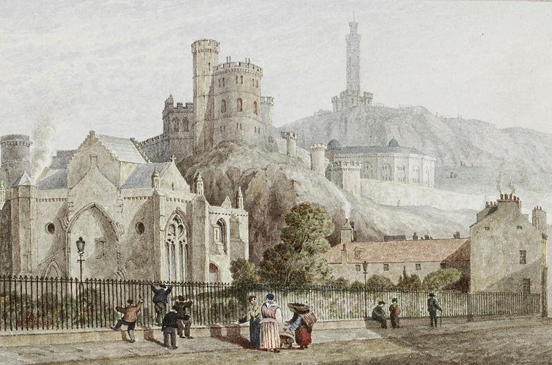 File:Samuel Dukinfield Swarbreck (attr) View of Edinburgh 1827 6.jpg