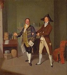 John Quick and John Fawcett in Thomas Moreton's \