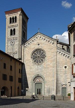 Fidelis of Como - The Basilica of San Fedele in Como.