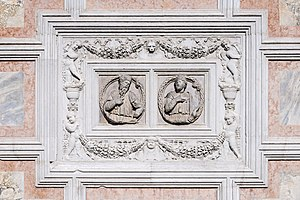 Cristoforo Solari - Church of San Zaccaria Venice - bas-relief on the facade