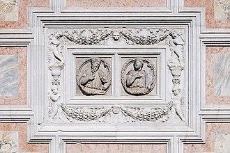 Cristoforo Solari - Church of San Zaccaria Venice - bas-relief on the facade