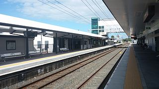 Sandgate railway station, Brisbane railway station in Brisbane, Queensland, Australia