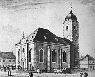 Königswinter - Image: Sankt Remigius Koenigswinter 1850