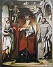 Santa Margherita d'Antiochia tra i santi Girolamo e Francesco d'Assisi
