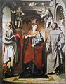 Santa Margherita d'Antiochia tra i santi Girolamo e san Francesco d'Assisi.jpg