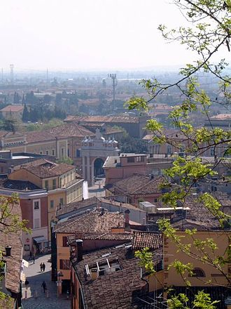 Santarcangelo di Romagna - Image: Santarcangelo ville