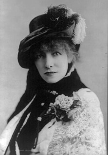 Sarah Bernhardt French actress