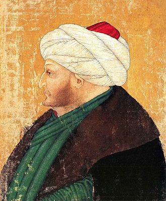 Classical Age of the Ottoman Empire - Miniature of Mehmed II