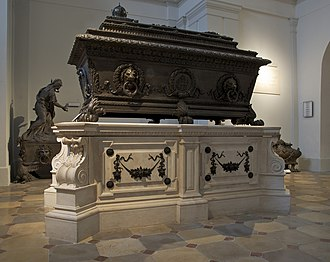 Ferdinand I of Austria - Ferdinand's sarcophagus the Imperial Crypt, Vienna