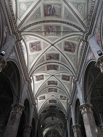 Sanctuary of Nostra Signora della Misericordia - Cupola frescoes