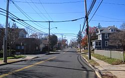 Photo of Sayreville along southbound Washington Road (CR 535)