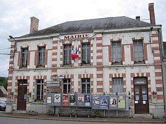 Sceaux-du-Gâtinais - The town hall in Sceaux-du-Gâtinais