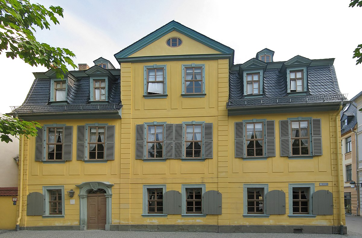 Schillerhaus weimar wikipedia for Haus foto