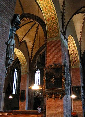 Schleswig Cathedral - Gothic inside of Schleswig Cathedral