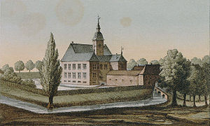 Bleijenbeek - Castle Bleijenbeek around 1860.