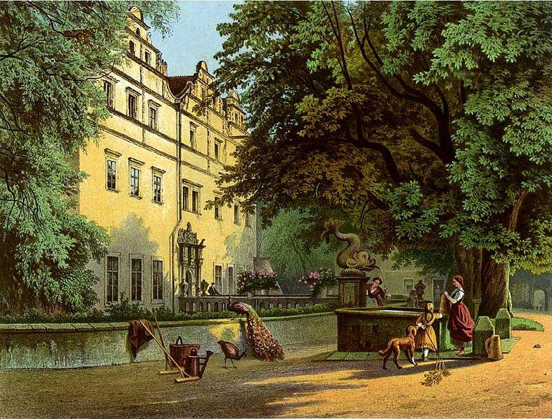 Файл: Schloss Giessmannsdorf Sammlung Duncker.jpg