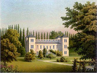Schloss Tegel - Schloss Tegel between 1857 and 1883