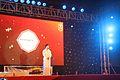 School principal giving opening speech, Talents' Festival 2013.jpg