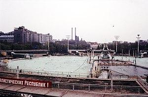 Басейн москва в 1980 році