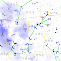 Scorpius constellation map (zh).png