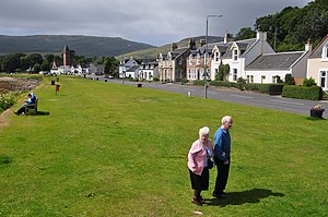 "Lamlash - ""An elongated settlement character"""