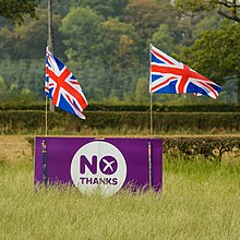 Scottish Referendum - No thanks sign.jpg