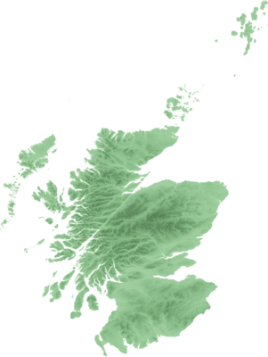 Location map Scotland relief 2