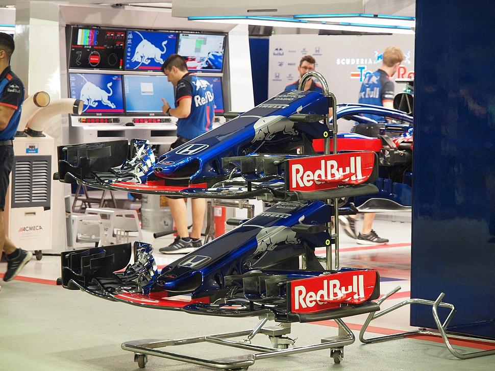 Scuderia Toro Rosso Spare Front Wings 2018 Singapore Grand Prix