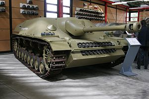 Jagdpanzer IV - The 0-Serie preproduction vehicle at Deutsches Panzermuseum