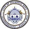 Official seal of Atlantic City, New Jersey