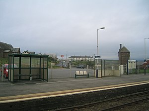 Seascale railway station - Image: Seascale railway station in 2007
