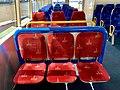 Seats inside the Nar-dha CityCat, Brisbane.jpg