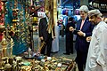 Secretary Kerry Admires Telescope During Visit to Muttrah Souk in Oman.jpg