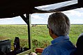 Secretary Kerry Looks at a Zebra in Nairobi National Park (17332062416).jpg