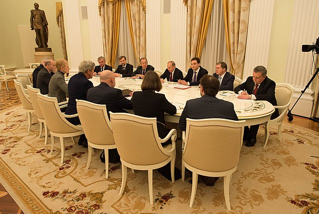Secretary Kerry Meets With Russian President Putin and Russian Foreign Minister Lavrov to Discuss Syria and Ukraine in Moscow (25404688914).jpg