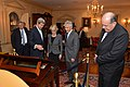 Secretary Kerry Shows Off Thomas Jefferson's Desk (10963540565).jpg