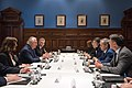 Secretary Tillerson and U.S. Charge d'Affaires Carousa met with Leader of Opposition Shorten and Cabiney Members During AUSMIN in Sydney (34946673032).jpg